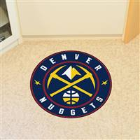 "NBA - Denver Nuggets Roundel Mat 27"" diameter"