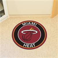 "NBA - Miami Heat Roundel Mat 27"" diameter"
