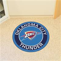 "NBA - Oklahoma City Thunder Roundel Mat 27"" diameter"