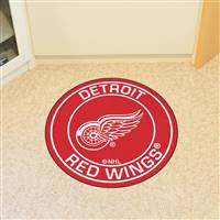 "NHL - Detroit Red Wings Roundel Mat 27"" diameter"