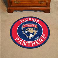 "NHL - Florida Panthers Roundel Mat 27"" diameter"