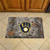 "Milwaukee Brewers Scraper Mat 19""x30"""