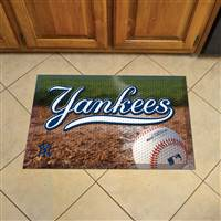 "New York Yankees Scraper Mat 19""x30"""