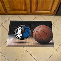 "NBA - Dallas Mavericks Scraper Mat 19""x30"""