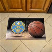 "NBA - Denver Nuggets Scraper Mat 19""x30"""