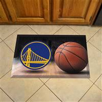 "NBA - Golden State Warriors Scraper Mat 19""x30"""