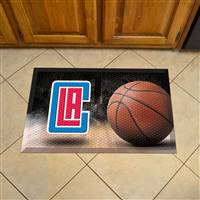 "NBA - Los Angeles Clippers Scraper Mat 19""x30"""