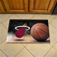 "NBA - Miami Heat Scraper Mat 19""x30"""