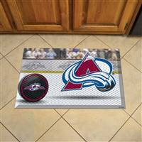 "NHL - Colorado Avalanche Scraper Mat 19""x30"""
