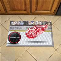 "NHL - Detroit Red Wings Scraper Mat 19""x30"""