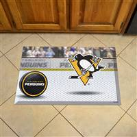 "NHL - Pittsburgh Penguins Scraper Mat 19""x30"""