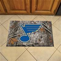 "NHL - St. Louis Blues Scraper Mat 19""x30"""