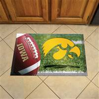 "University of Iowa Scraper Mat 19""x30"""