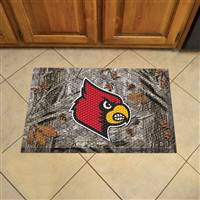 "University of Louisville Scraper Mat 19""x30"""