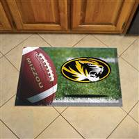 "University of Missouri Scraper Mat 19""x30"""