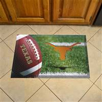 "University of Texas Scraper Mat 19""x30"""