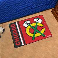 "NHL - Chicago Blackhawks Uniform Starter Mat 19""x30"""