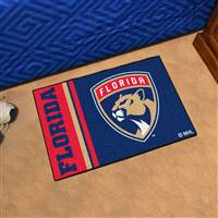 "NHL - Florida Panthers Uniform Starter Mat 19""x30"""
