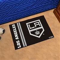 "NHL - Los Angeles Kings Uniform Starter Mat 19""x30"""