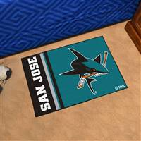 "NHL - San Jose Sharks Uniform Starter Mat 19""x30"""