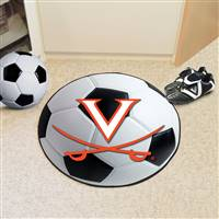 "Virginia Cavaliers Soccer Ball Rug 29"" Diameter"
