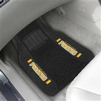 "Pittsburgh Pirates 2-pc Deluxe Car Mat Set 21""x27"""