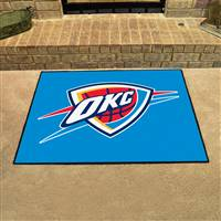"NBA - Oklahoma City Thunder All-Star Mat 33.75""x42.5"""