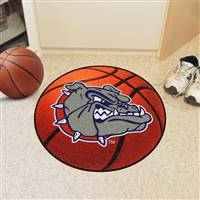 "Gonzaga Bulldogs Basketball Rug 29"" diameter"