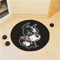 "Boston University Puck Mat 27"" diameter"
