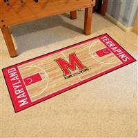 "University of Maryland NCAA Basketball Runner 30""x72"""