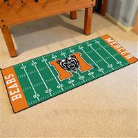 "Mercer University Football Field Runner 30""x72"""