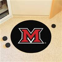 "Miami University (OH) Puck Mat 27"" diameter"