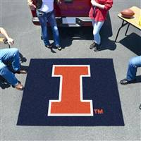 "Illinois Fighting Illini Tailgater Rug 60""x72"""