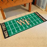 "Wake Forest University Football Field Runner 30""x72"""