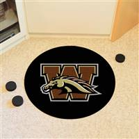 "Western Michigan University Puck Mat 27"" diameter"