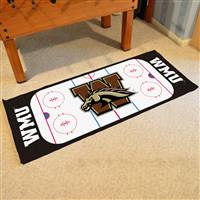 "Western Michigan University Rink Runner 30""x72"""