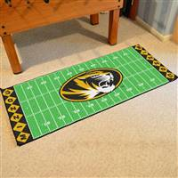 "University of Missouri Football Field Runner 30""x72"""