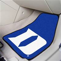 "Duke University 2-pc Carpet Car Mat Set 17""x27"""