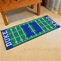 "Duke University Football Field Runner 30""x72"""
