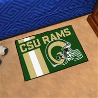 "Colorado State University Uniform Starter Mat 19""x30"""