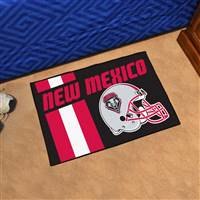 "University of New Mexico Uniform Starter Mat 19""x30"""
