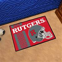 "Rutgers University Uniform Starter Mat 19""x30"""