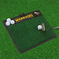 "NBA - Golden State Warriors Golf Hitting Mat 20"" x 17"""