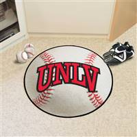 "University of Nevada, Las Vegas (UNLV) Baseball Mat 27"" diameter"