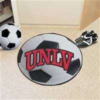"University of Nevada, Las Vegas (UNLV) Soccer Ball Mat 27"" diameter"
