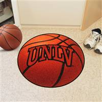 "UNLV Nevada Las Vegas Basketball Rug 29"" diameter"