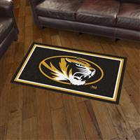 "University of Missouri 3x5 Rug 36""x 60"""