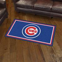 "Chicago Cubs 3x5 Rug 36""x 60"""