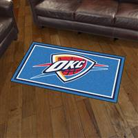 "NBA - Oklahoma City Thunder 3x5 Rug 36""x 60"""