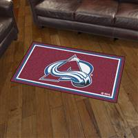 "NHL - Colorado Avalanche 3x5 Rug 36""x 60"""